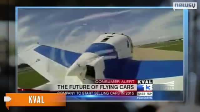 News video: Flying Car Could Roll (Fly?) Out in 2015